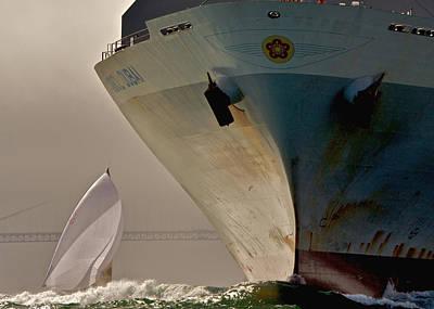 Photograph - Bay Traffic by Steven Lapkin