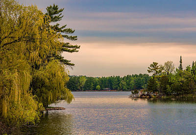 Charming Cottage Photograph - Bay Lake by Paul Freidlund