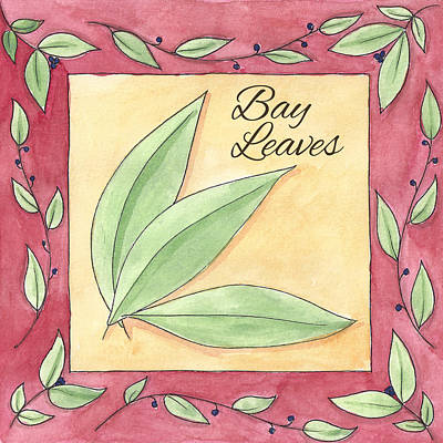 Bay Leaves Art Print by Christy Beckwith