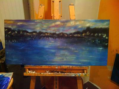 Bay Lights Original by Erin Langham