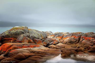 Bay Of Fires 4 Art Print