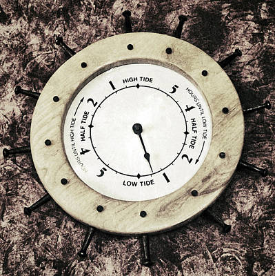 Photograph - Bay Of Fundy Tide Clock by Patricia Januszkiewicz