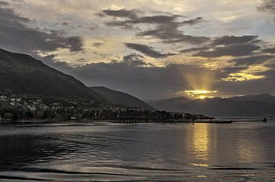 Photograph - Bay Of Kotor by Maria Coulson