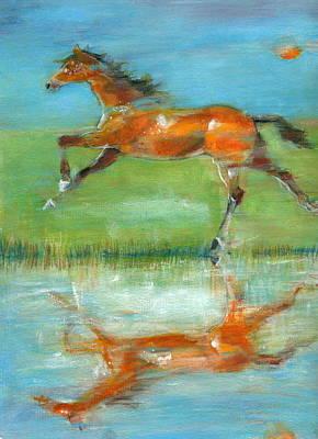 Bay Reflection Art Print