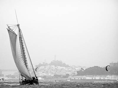 Photograph - Bay Sail by Patty Descalzi