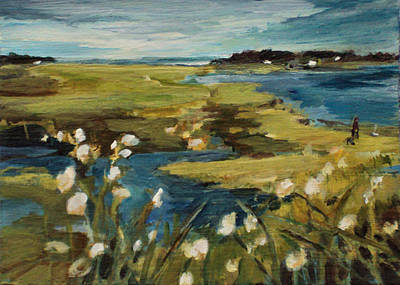 Painting - Bay Side  by Diane Ursin