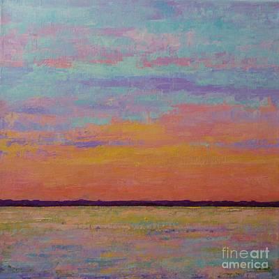 Bay Sunset Art Print