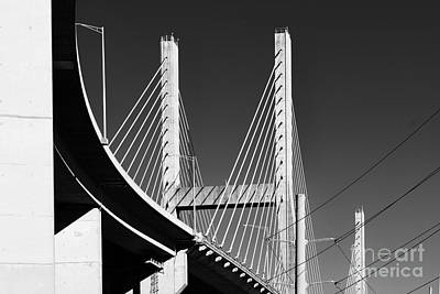 Photograph - Baybridge by Russell Christie