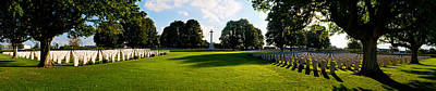 Photograph - Bayeux War Cemetery  by Weston Westmoreland