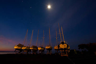 Best Sailing Photograph - Bayfield Wisconsin Point To The Heavens by Wayne Moran