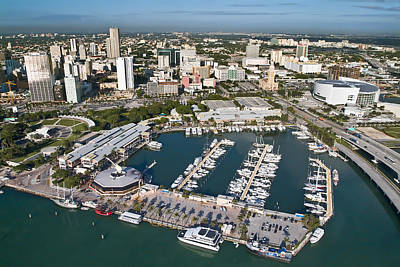 Bayfront Park Photograph - Bayfront Miami by Patrick M Lynch