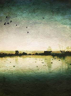 Baylands At Sunset Art Print