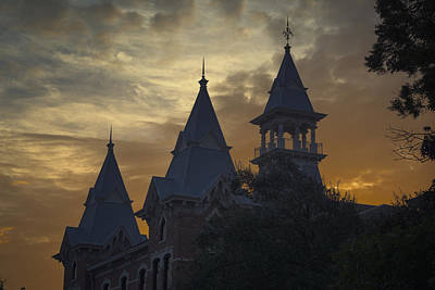 University Photograph - Baylor Dawn by Joan Carroll
