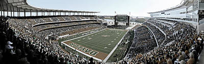 Athletes Royalty-Free and Rights-Managed Images - Baylor Gameday No 4 by Stephen Stookey