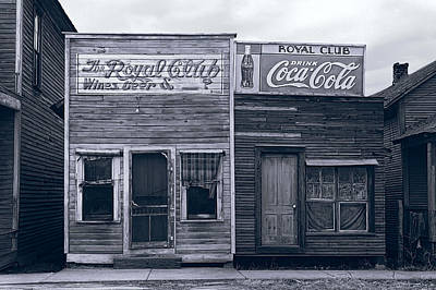 Octoberfest Photograph - Bayou Beer Hall  1929 by Daniel Hagerman