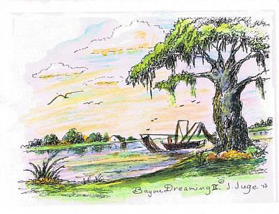 Bayou Dreaming II Art Print by Jacqueline Juge