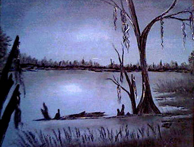 Painting - Bayou Dreams by Bertie Edwards