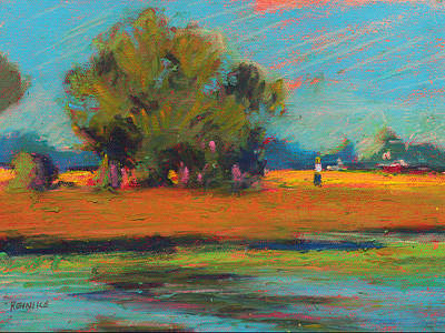 Painting - Bayou Field by Vernon Reinike