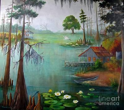 Bayou Living  Art Print
