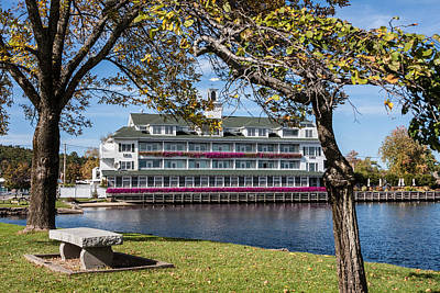 Photograph - Baypoint Inn At Mill Falls Meredith Nh by Karen Stephenson