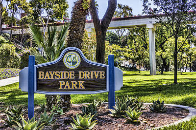 Digital Art - Bayside Drive Park by Photographic Art by Russel Ray Photos
