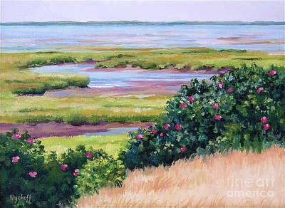 Bayside Marsh Art Print