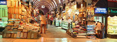 Buy Buy Photograph - Bazaar, Istanbul, Turkey by Panoramic Images