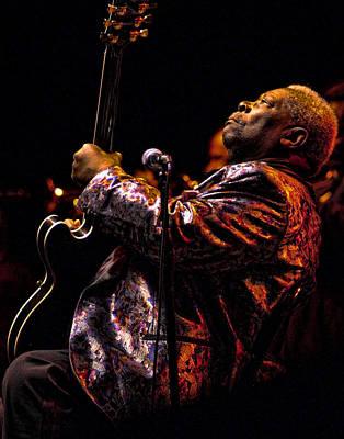Photograph - B.b. King In Concert by Michael McGowan