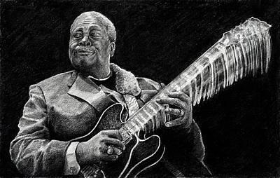 Bb King Of The Blues Art Print