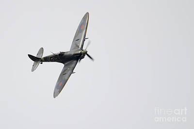 Spitfire Photograph - Bbmf Spitfire by J Biggadike