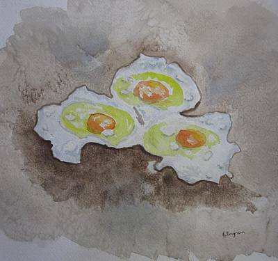 Breakfast Anyone Art Print by Elvira Ingram