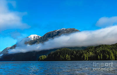 Photograph - Bc Coastline by Robert Bales