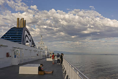 Photograph - Bc Ferry by Inge Riis McDonald
