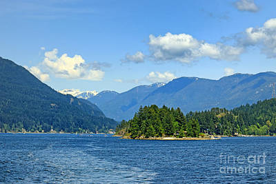Photograph - Bc Fjords And Islands by Charline Xia