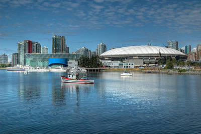 Photograph - Bc Place Stadium Vancouver British Columbia by Rob Huntley