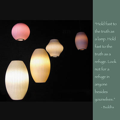Photograph - Be A Lamp Unto Yourself by Heidi Hermes