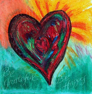 Pastel - Be Grateful Be Happy by Racquel Morgan