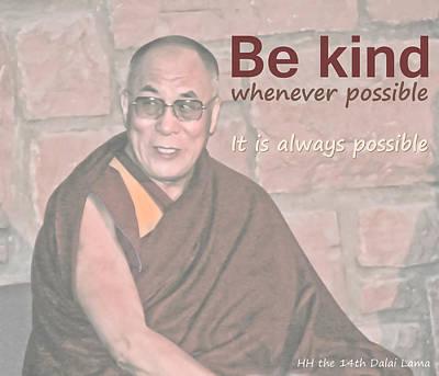 Photograph - Be Kind by Liz Leyden