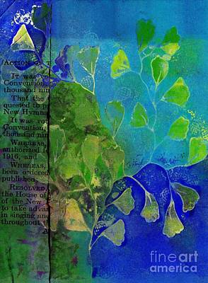 Be-leaf - J76073176b1b Art Print by Variance Collections