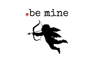 Toss Digital Art - Be Mine by Chastity Hoff