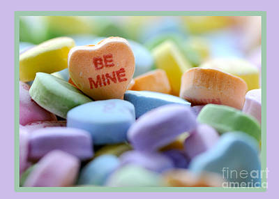 Photograph - Be Mine Valentine by Nancy Greenland