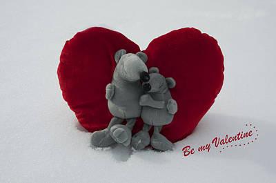 Be My Valentine  Art Print by Nicole Markmann Nelson