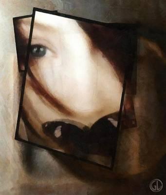 Butterfly Digital Art - Be Silent by Gun Legler
