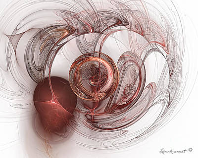 Digital Art - Be Still My Heart by Leona Arsenault