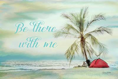 Be There Beach II Art Print by Ramona Murdock