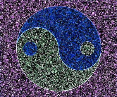 Be Ying - Inversion Art Print