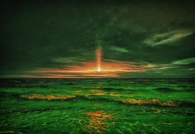 Polaroid Camera - Beach 34 by Ingrid Smith-Johnsen