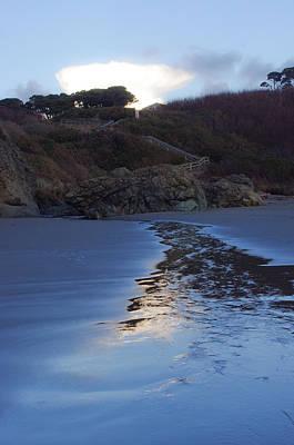 Beach Access Art Print by Adria Trail