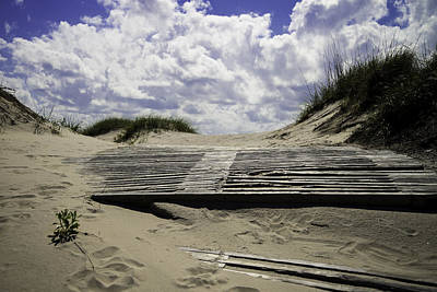 Photograph - Beach Access by Bonnie Leigh Delar