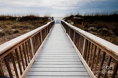 Beach Access Hilton Head Art Print
